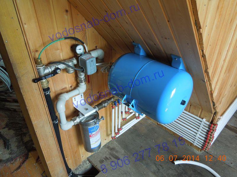 ремонт водопровода в загородном доме цена
