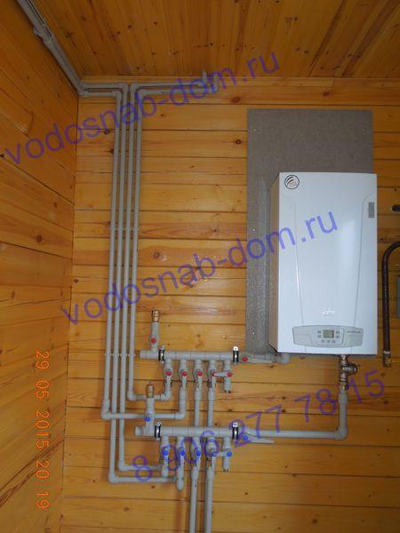 отопление в частном доме цена в ленинградской области