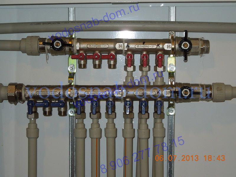 разводка труб водоснабжения в квартире цена