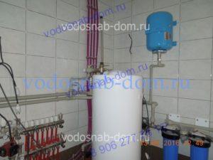 Монтаж накопительного водонагревателя под ключ