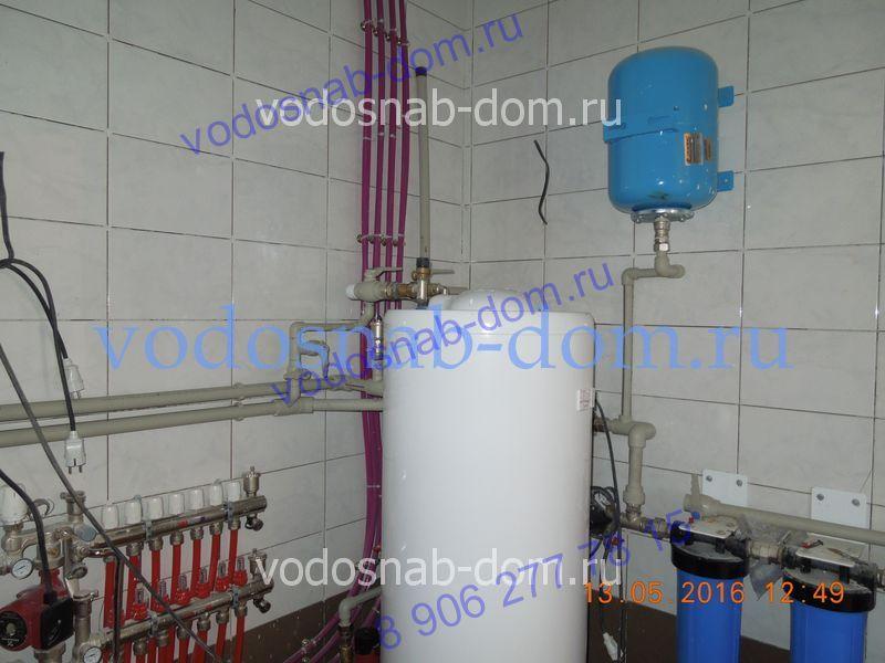 установить систему отопления в частном доме