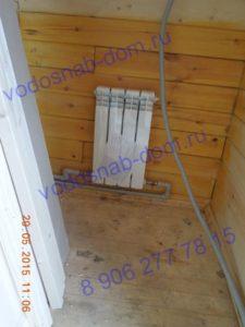 водяные радиаторы на даче