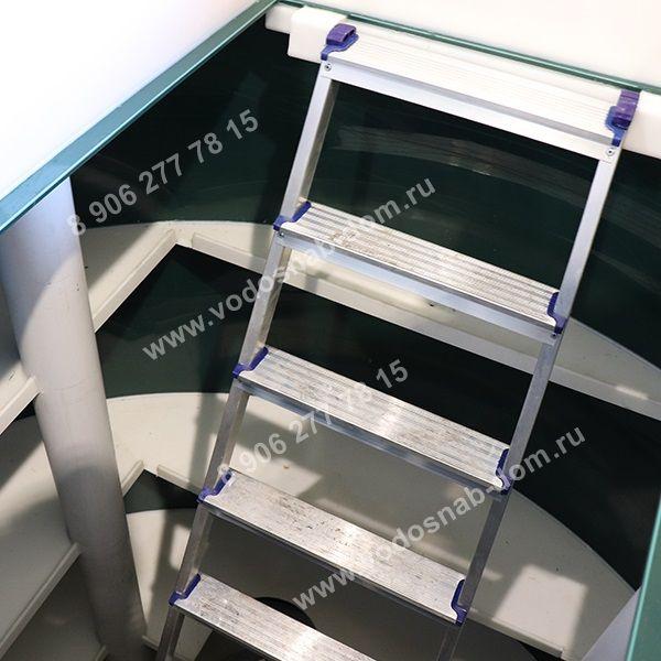 кессон для скважины с лестницей купить