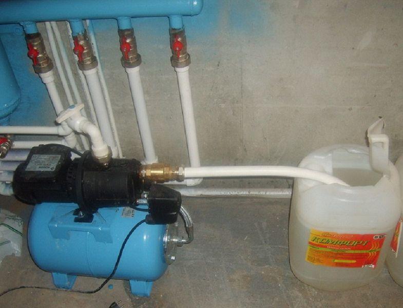 ремонт системы отопления в частном доме цена