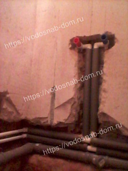 прокладка отопительных труб стоимость